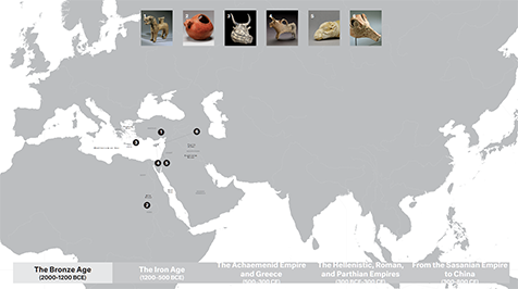 A Screenshot of the Animal-Vessels touchscreen interactive